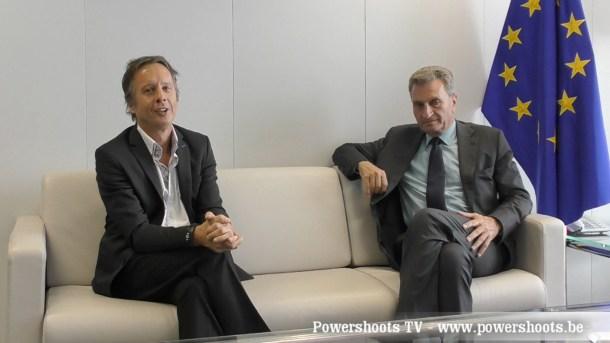 Günther Oettinger on Powershoots TV
