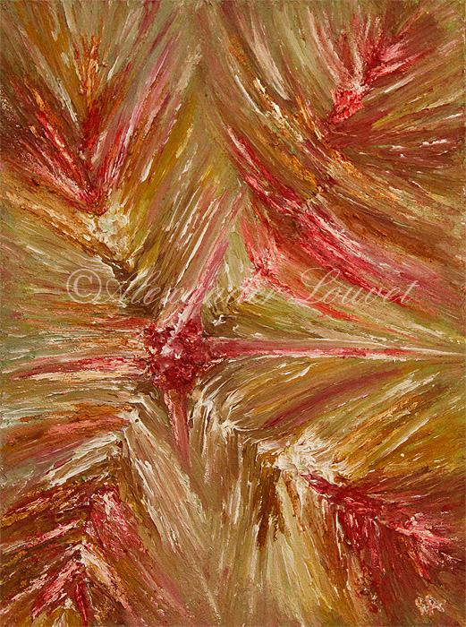 """Painting """"ENCARA"""" Acrylic-Oil 80X60"""