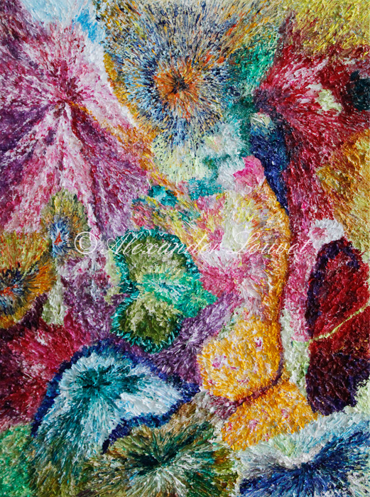"""Painting """"OLIVIA"""" Oil 80X60"""