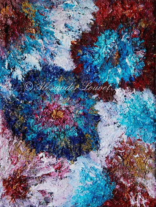 "Painting ""KATASCHA"" Oil 40x30"