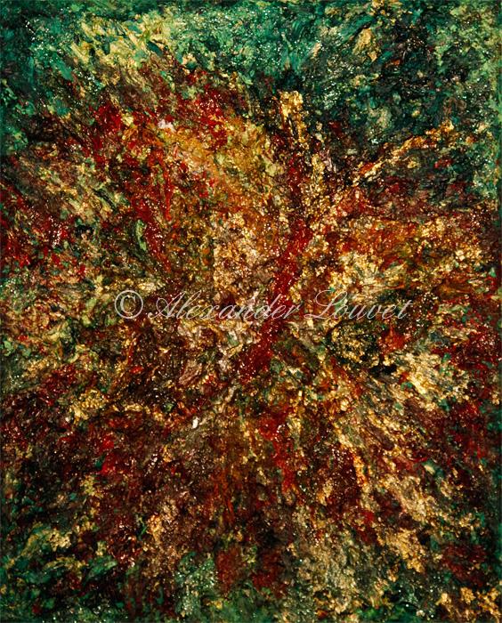 "Painting ""Papillon"" Oil 30x24"