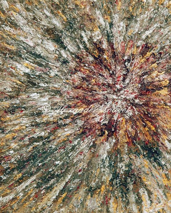 "Painting ""Bessa"" 30x24 Acrylic Oil"