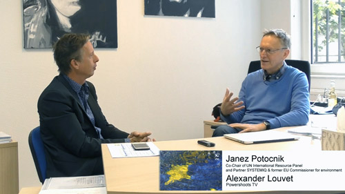 TOP Interview with Janez Potocnik on Powershoots TV