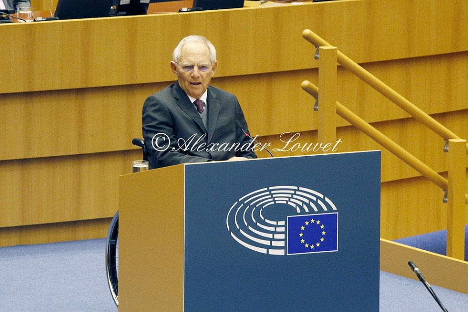 Wolfgang Schäuble - 30th anniversary of the fall of the Berlin Wall