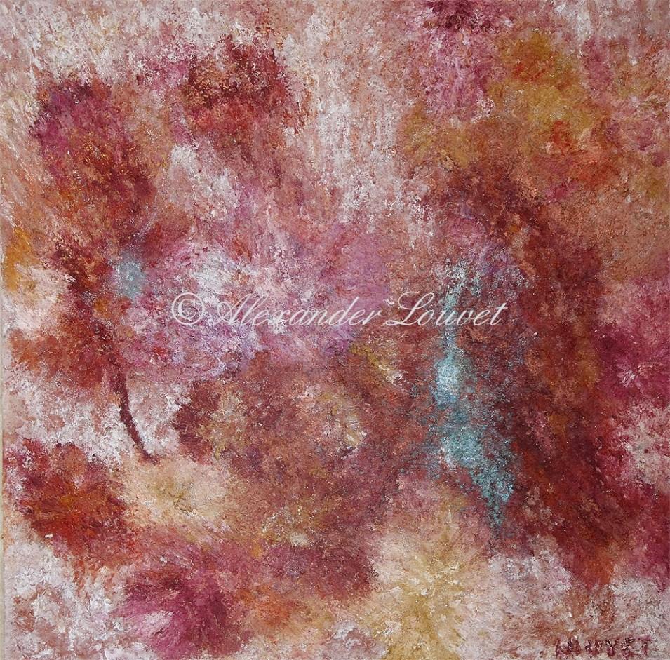 """Painting """"Indiga"""" 100X100 full oil"""
