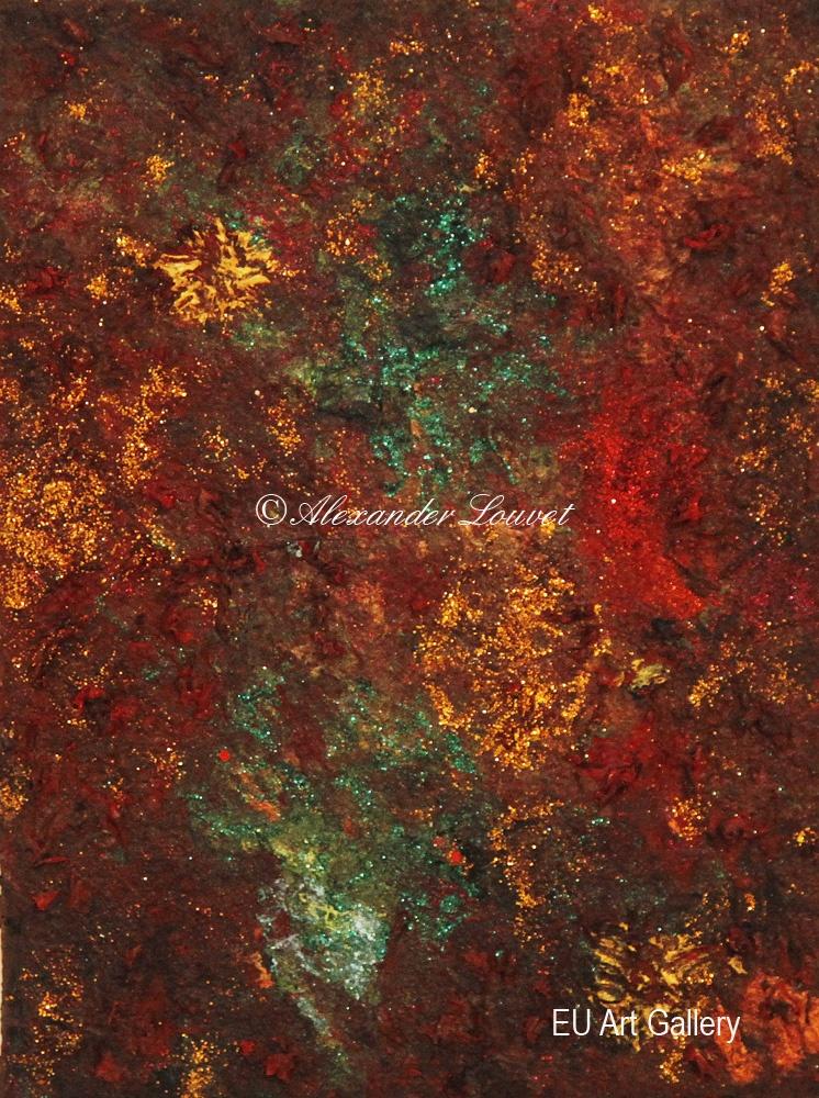 """Painting """"Asha II"""" - 24X30 - Acrylic-Oil"""