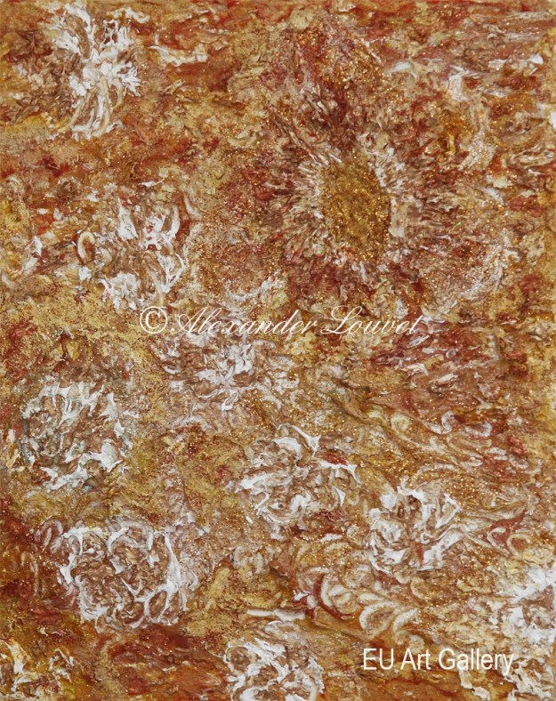 "Painting ""Fall II"" - 30X24 - Acrylic-Oil"