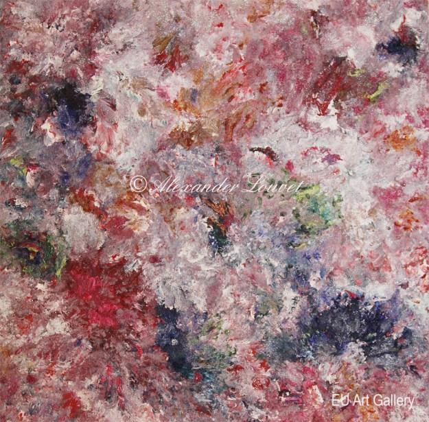 "Painting ""Angel Dream"" 60x60 Acrylic-Oil"