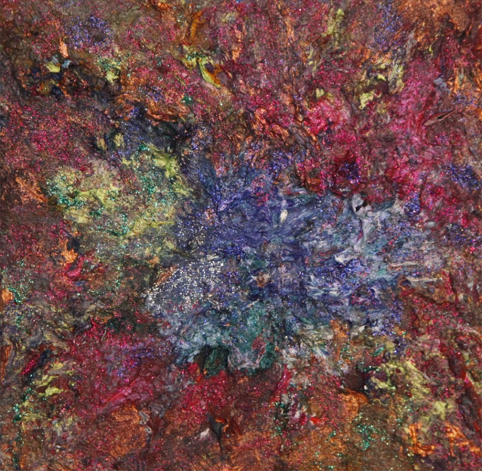 "Painting ""Tessa I"" 20x20 Acrylic-Oil"