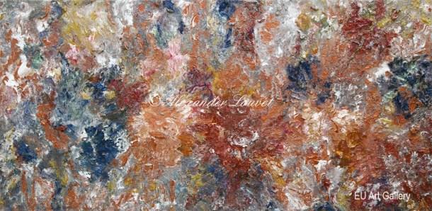 "Painting ""Angel Dream II"" 50x100 Acrylic-Oil"