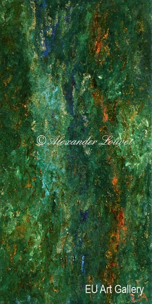 "Painting ""Elfa I"" Acrylic-Oil"