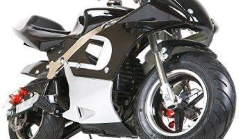 New 40CC 4-Stroke Gas Power Mini Pocket Motorcycle Ride-on