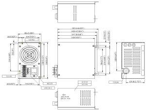 48 volt or 48 volt DC Input PC ATX Power Supplies, 48