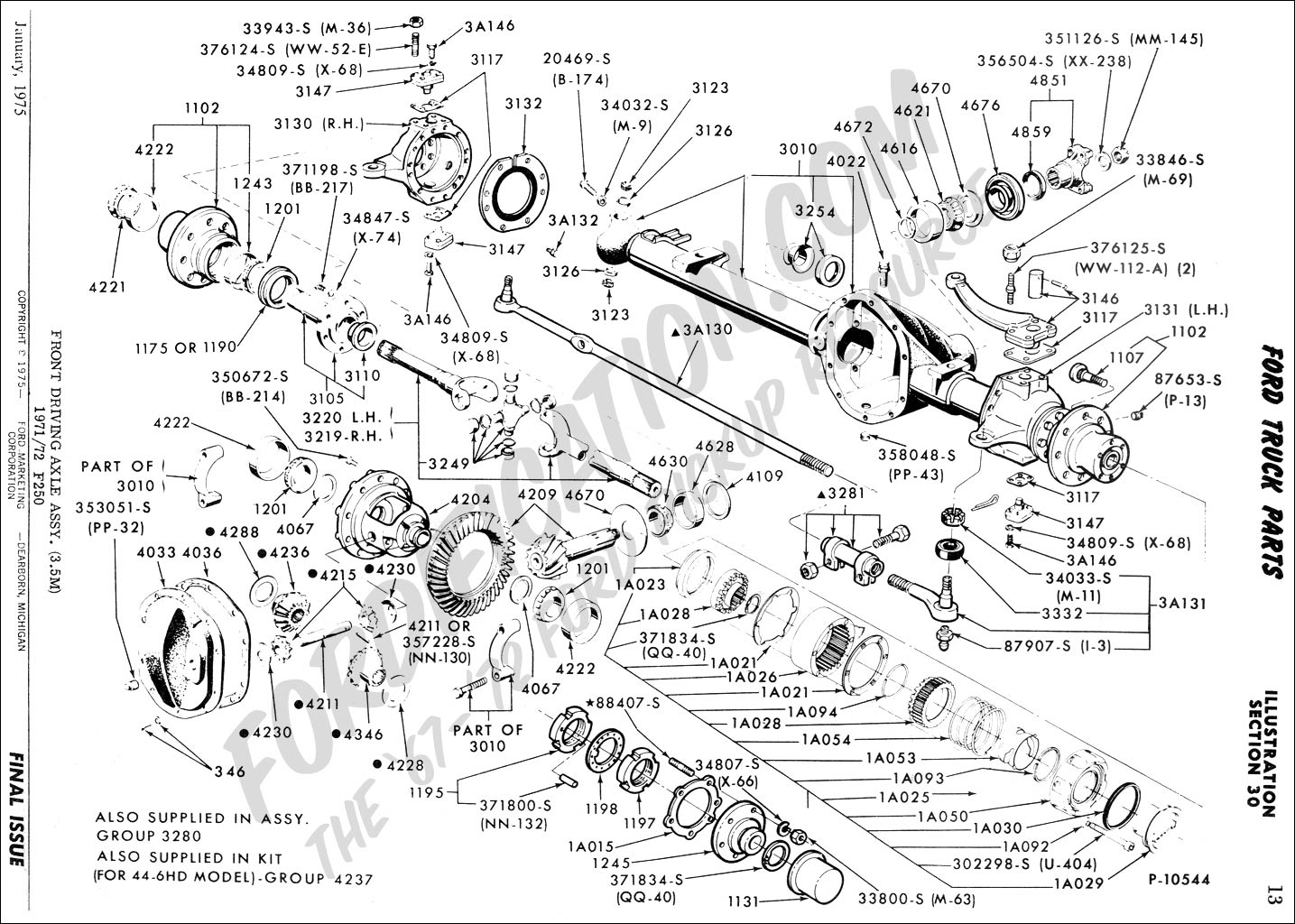Ford F250 Steering Diagram
