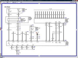 60 Powerstroke Fuel Injector Schematic  Wiring Diagram
