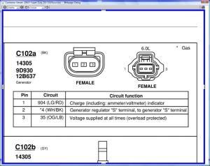 Alternator wiring  Ford Powerstroke Diesel Forum