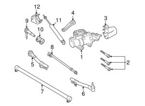 front suspension  tie rod ends  Ford Powerstroke Diesel Forum