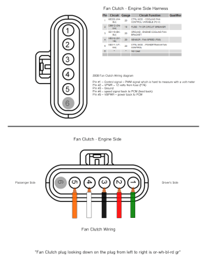 Fan Clutch Wiring Fix (Pulled out of Harness)  Ford