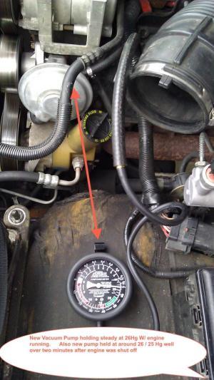 Hard Brake Peddle  Even after new Vacuum Pump  Ford Powerstroke Diesel Forum