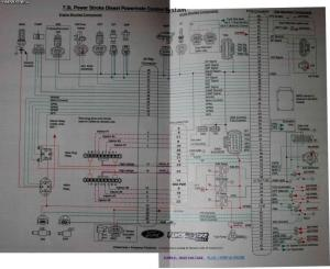 Need PCM Pinsconnector #s diagram  Ford Powerstroke