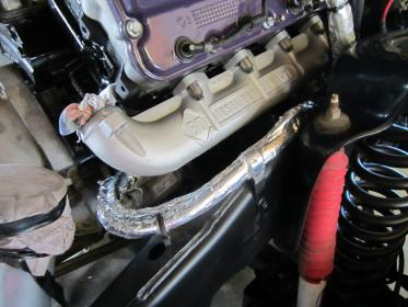 exhaust manifolds bd or rcd ford
