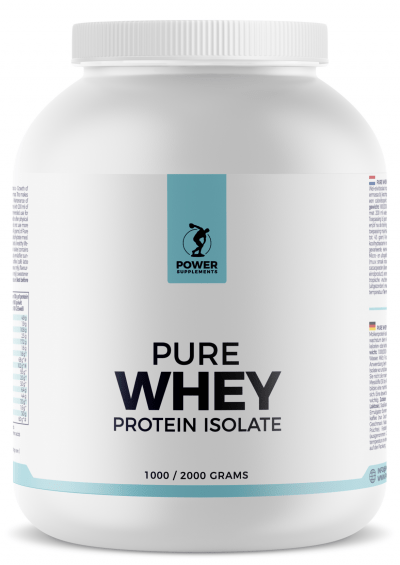 Pure Whey Protein Isolate 2000g - Café Latte