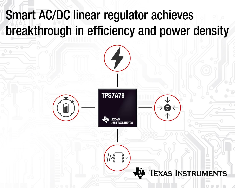 Ac Dc Linear Regulator Features 75 Percent Higher Efficiency