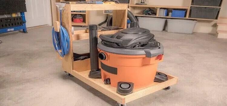 woodworking shop vac maintenance and storage