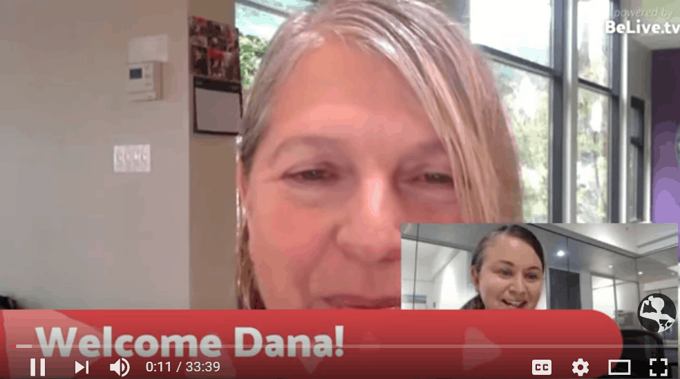 Dana Bass Solomon, Hollyhock   PowHERful Living Explored Accessible Media Series