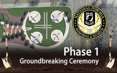 Ground broken for National POW/MIA Memorial & Museum in Jacksonville