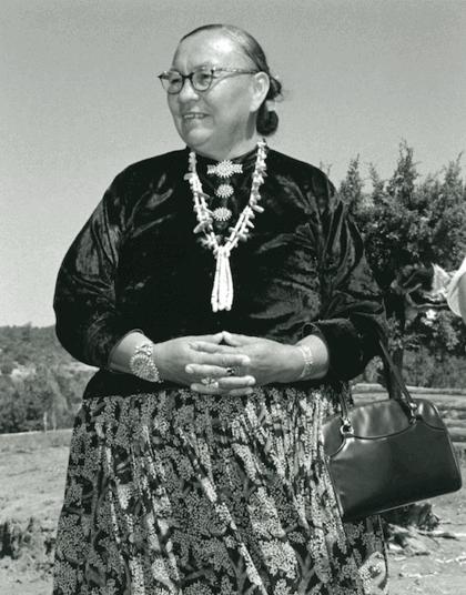 Famous Native American Women - Annie Dodge Wauneka