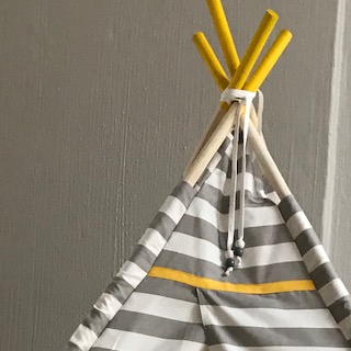 grey teepee in johannesburg