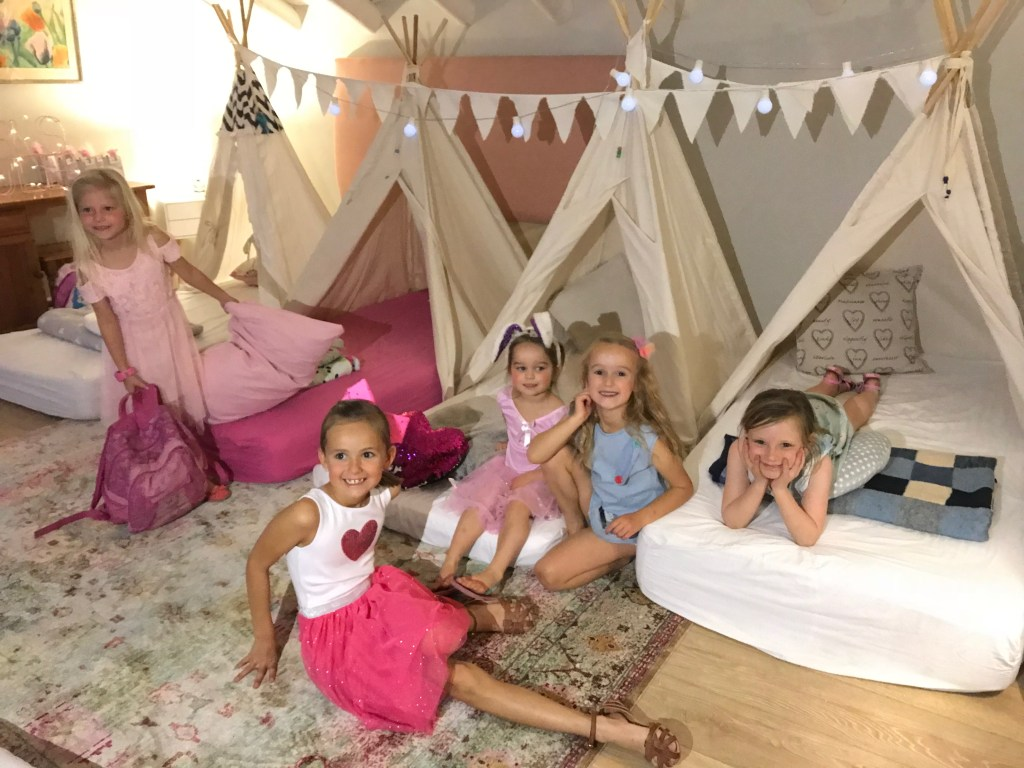 Hire a teepee for you kids party
