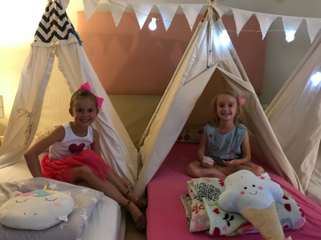 Teepees for kids party hire