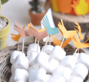 Marshmallow treats for kids parties