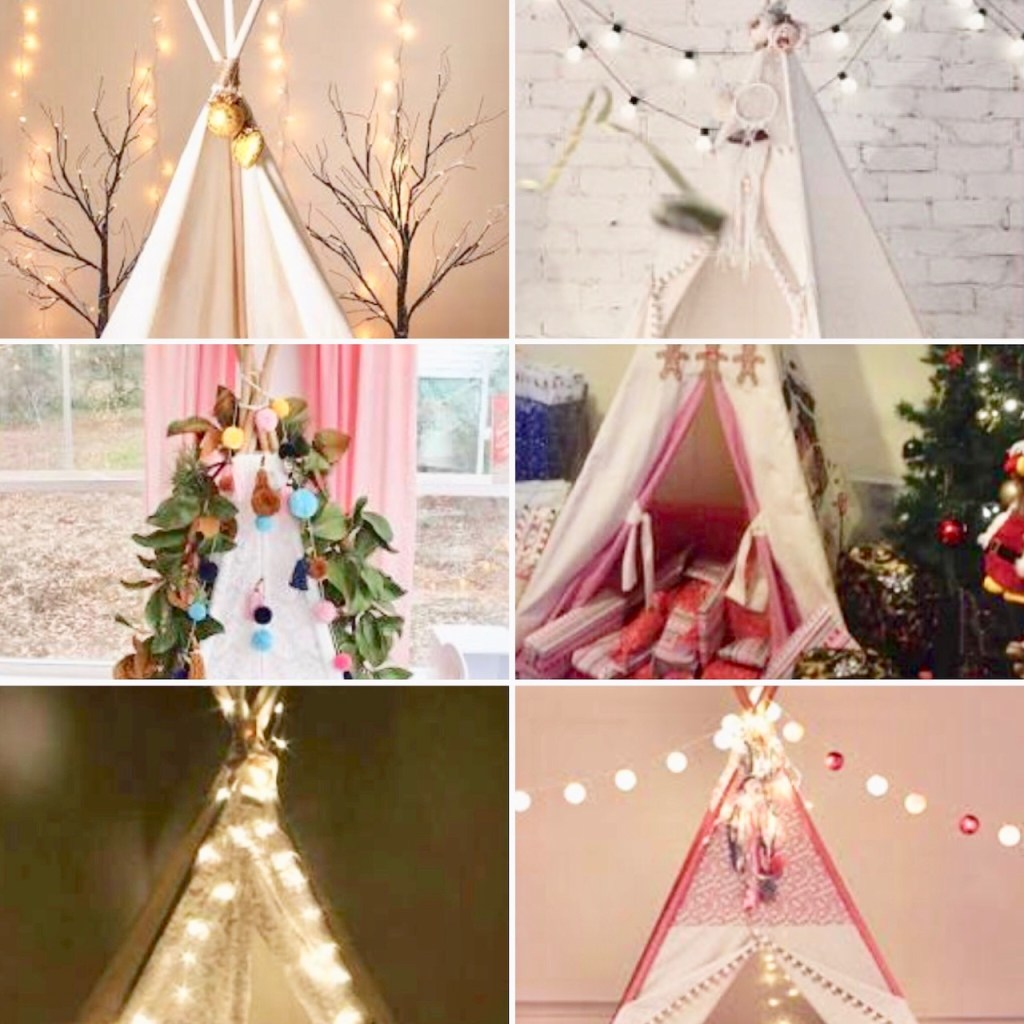 Teepee Christmas gifts for children