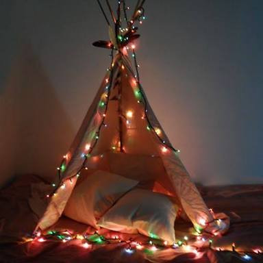 Get your child a teepee or play tent for Xmas