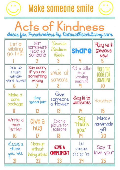 Random Acts of Kindness