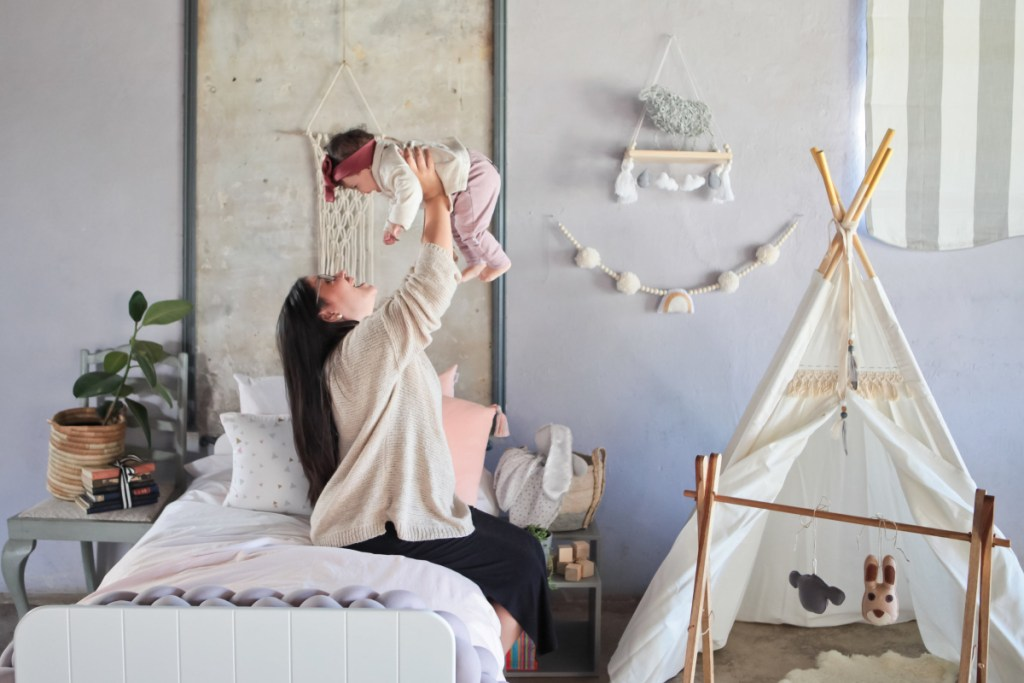 General neutral ideas for children's bedrooms