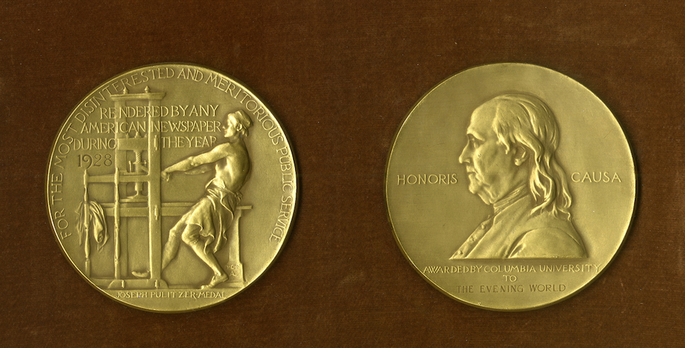 Here are the winners of the 2018 Pulitzer Prizes