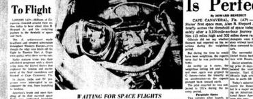 Today in Media History: In 1961 reporters described the first U.S. manned space flight