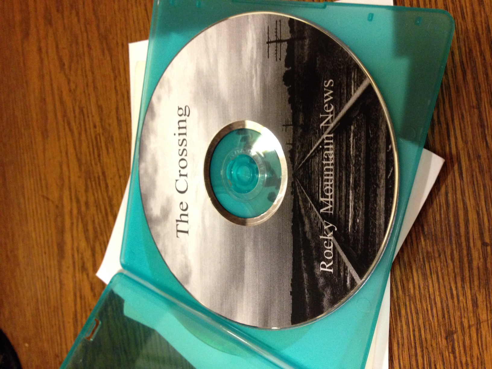 """One of Kevin Vaughan's copies of """"The Crossing."""" (Photo by Kevin Vaughan)"""