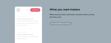 This newsletter platform gets writers paid for the work they want to do
