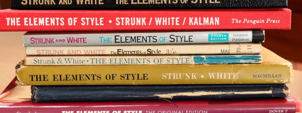 strunk & whites elements of style