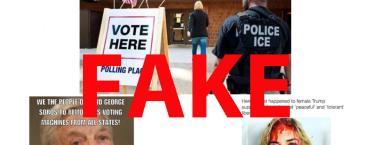 New election, same viral political hoaxes