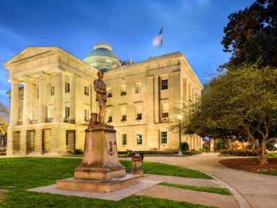 The North Carolina state capitol. (Shutterstock)