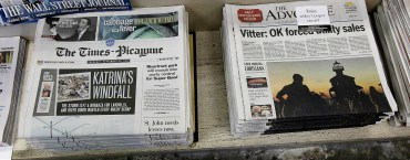 Upstart New Orleans Advocate has bought the rival Times-Picayune