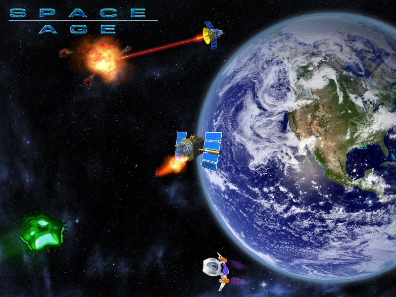 Space Age Wallpapers      Pozirk Games 800