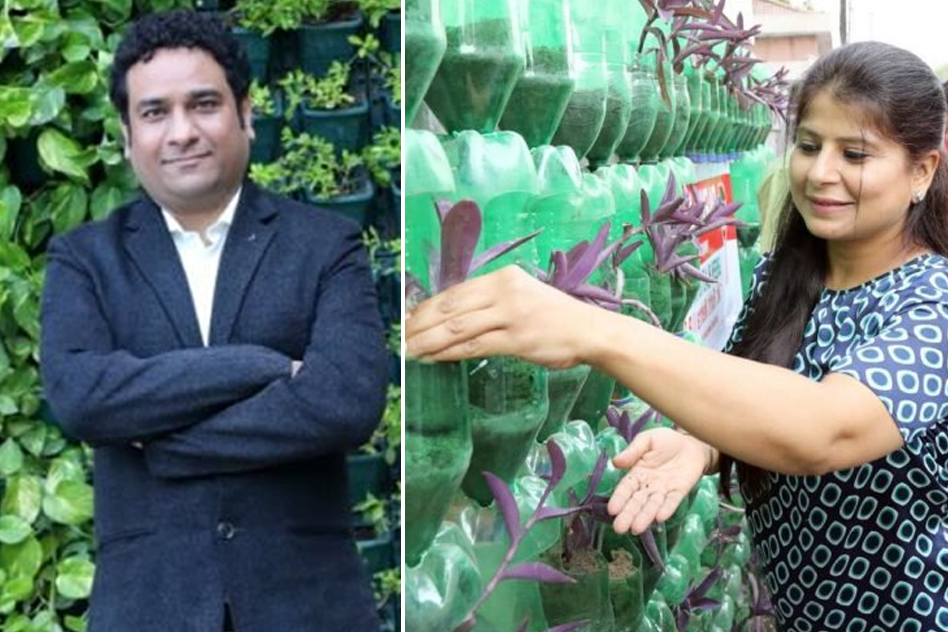 IRS Rohit mehra with wife