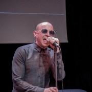 Chester lors Concert Privé de Linkin Park